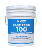 Image of AVM Base Resin 100 per Gallon in 5 Gallon Unit - #802 Silver