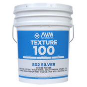 Image of AVM Texture 100 Silver per Gal in 5 Gal Unit - #802 Silver