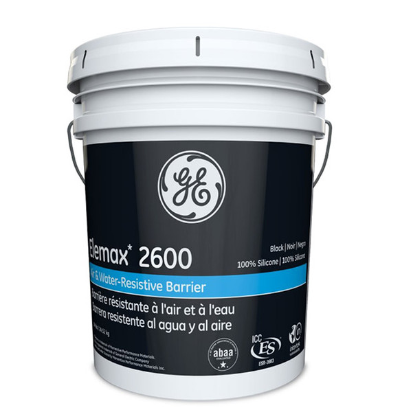 Img of GE Elemax 2600 Silicone AWB per Gallon in 5 Gallon Unit