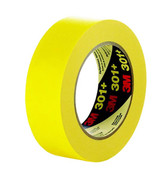 Image of 3M Performance Yellow Masking Tape 301+, 2 per Roll