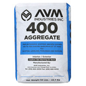 Image of AVM Aggregate 400 Gray per Bag of 50 Pounds - Gray