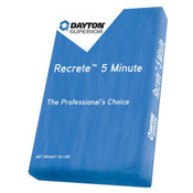 Image of Dayton Recrete 5 Minute per Bag of 50 Pounds