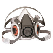 Image of 3M Half Facepiece Reusable Respirator 6200/07025(AAD)