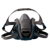 Image of 3M 6502QL Rugged Comfort Quick Latch Half Face Respirator M