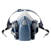 Image of 3M 7502 Half Facepiece Reusable Respirator Prot -M