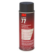 Image of 3M Super 77 Aerosol Adhesive per 24 Ounce Unit