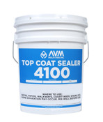 Img of AVM Top Coat Sealer 4100 Cust. per Gallon in 2 gallon Unit