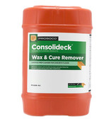 Img of Consolideck Wax & Cure Remover per Gallon in 5 Gallon Unit