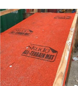 Img of Skudo All-Terrain Mat - Orange - 3.4' x 33' per roll