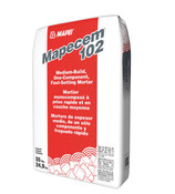 Img of Mapei Mapecem 102 Fast-Setting Mortar per 55 Lb Bag