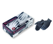 Img of Duraskin 5mil Black Disposable Nitrile Gloves, Powder-Free - Large per Box