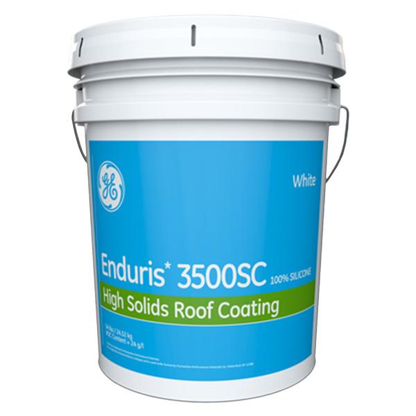 Ge Silicone Roof Coat Scm3500 Per Gallon In 5 Gallon Unit