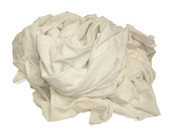 Img of White Knit Wiping Rags per 10 Pound Unit