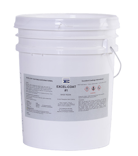 Image of Excel-Coat Base Coating per Gallon in 5 Gallon Unit