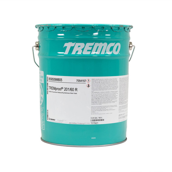 Image of TREMproof 201/60 R Membrane per Gallon in 5 Gallon Unit